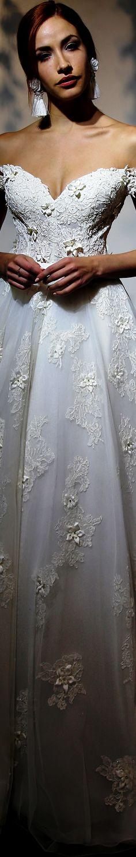 Yumi Katsura Bridal Spring 2019 Bridal Elegance, Bridal Gowns, Wedding Dresses, One Shoulder Wedding Dress, Most Beautiful, Dream Wedding, Wedding Inspiration, Couture, Elegant