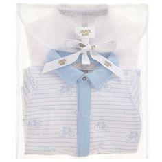 Armani Baby - Boys Cotton Babysuits (2 Pack) |