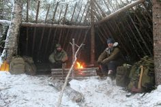 Winter bushcraft skills in Northern Sweden - Serious Outdoor Skills
