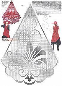 Crochet Tablecloth Pattern, Crochet Bedspread Pattern, Crochet Doily Patterns, Thread Crochet, Crochet Motif, Crochet Designs, Crochet Doilies, Crochet Stitches, Cross Stitch Patterns