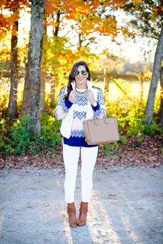 fair isle sweater, ivory corduroys, j.crew excursion vest, ivory puffer vest, quilted vest, fringe booties, fall style, fall fashion, fall outfit ideas, preppy fall outfits // grace wainwright from a southern drawl