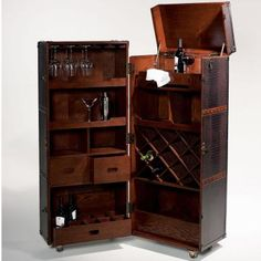 Because I obviously need to spend 800 euros on a wheelie trunk that is actually a bar. Obviously.