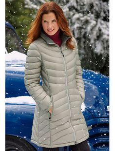 Ll bean down jacket with hood