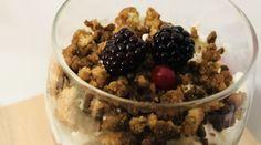 pohárkrém Acai Bowl, Oatmeal, Healthy Recipes, Breakfast, Food, Diets, Yogurt, Acai Berry Bowl, The Oatmeal