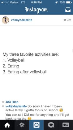 After a tournament I could probably eat everything in the world and not be full