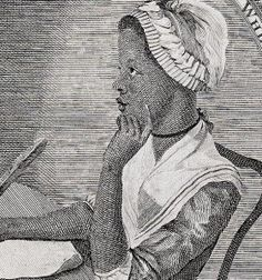 "Phillis Wheatley's first poem was published at the age of twelve, ""On Messrs. Hussey and Coffin.""  Phillis' popularity as a poet both in the United States and England ultimately brought her freedom from slavery on October 18, 1773.  Phyllis has many accomplishments from a woman of her day:   - First African American to publish a book   - An accomplished African American woman of letters   - First African American woman to earn a living from her writing"
