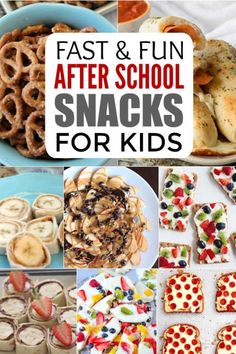 Check out these 25 fun after school snacks for kids. Even the pickiest eaters will love these. They are healthy and delicious! Snacks for kids After School Snacks for Kids - 25 Fun AFter School Snacks Healthy Afterschool Snacks, Healthy Bedtime Snacks, Healthy Afternoon Snacks, Lunch Snacks, Clean Eating Snacks, Cheap Healthy Snacks, Healthy School Snacks, Healthy Breakfasts, Diet Snacks