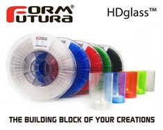 Realistic Formfutura Hdglass Blinded Sapphire Gray Filament 1.75mm 750g Suitable For Men Women And Children