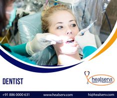 Are you looking for a dentist near me? Healserv provides you the experienced and best dentist of your location online in just simple three clicks. Book an instant online appointment with dentists for all dental problems through Healserv. Dentist Near Me, Best Dentist, Dental Surgeon, Dental Implants, Dental Doctor, Dental Problems, Appointments, Books Online, Clinic