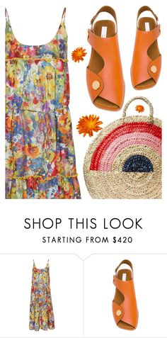 """""""Floral Sundress"""" by sharmarie ❤ liked on Polyvore featuring STELLA McCARTNEY and Vanessa Seward"""