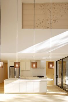Interior aspect of House of Maple in Japan by Edward Suzuki Associates
