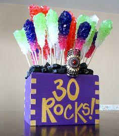 30 Rocks! DIY Birthday gift. By me :)