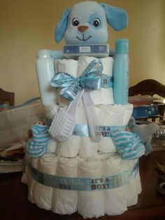 Antrelle Crafts: Diaper Cakes {Guest Blog} #diapercakes #Craftproject #babyshowergift