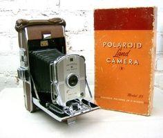 Original 1940s Polaroid camera    #photography #vintage #1940 #polaroid