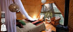 Dome camping in Patagonia Patagonias 1st Eco-Hotel, Hiking & Wildlife Trips, Chile, Torres del Paine » EcoCamp Patagonia