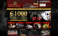LaRomere Casino $1,000 Welcome Bonus + €5 Netent Free Spins. Receive 40% for all deposite bonus this week end with a bonus code:WBPM40500
