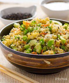 Japanese Quinoa Salad Recipe - RecipeChart.com