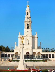 Church of Our Lady of Fatima, Portugal.