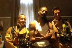 """Snoop Dogg is rescue by firefighters in #Australia. """"This is an opportune time to make sure you have a correctly fitted smoke alarm in room"""" says #Bowen.  The rapper put pictures of him and the firemen on his #Instagram account, with the caption """"Fire dept shut it down!"""" Some reports suggested they responded to smoke detectors in the musician s own room but an attending officer said it was a false alarm. #Entertainment #SnoopDogg"""
