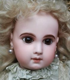 Fabulous French Antique Jumeau EJ  Bebe Size 11 Near Mint Museum Quality Doll