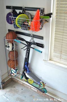 Garage Organization and Clean Up with RubberMaid FastTrack from Home Depot More