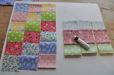 Tutorial for the scrappytripalong quilt I just finished... HenHouse: Scrappy Trips Around the World Block Tutorial