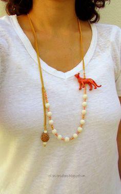 diy: Animal Toy Necklace