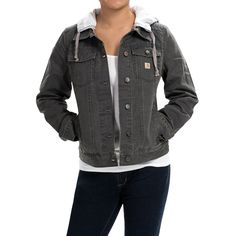 Carhartt Tomboy Canvas Jacket (For Women)