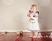 In the meadow we can build a SNOWMAN Holiday Winter Chenille Snowman Jumper