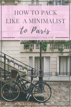 How to Pack Like a Minimalist For Paris // This is exactly what I packed in my backpack for a four day trip to Paris, France. I'm sharing what to pack and what NOT to pack in this short guide! Paris In May, Minimalist Packing, Minimalist Fashion, Paris Packing, Plastic Alternatives, Ways To Travel, Travel Tips, Packing Light, What To Pack