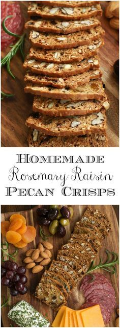 These crackers taste just like the ones at the gourmet markets and theyre easy and inexpensive to make - one bowl, no mixer! via The Caf Sucre Farine Easy Dinner Recipes, Appetizer Recipes, Breakfast Recipes, Appetizers, Vegetarian Recipes, Cooking Recipes, Healthy Recipes, Biscotti, Crudite