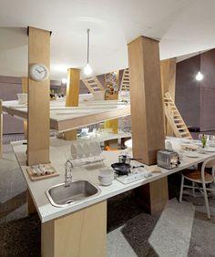 DZine Trip | Future housing concept: Pillar House by Japanese architect Suzuko Yamada | http://dzinetrip.com