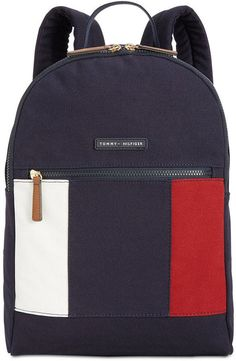 611ccc9f9d5 Tommy Hilfiger Th Flag Small Backpack Mochila Tommy