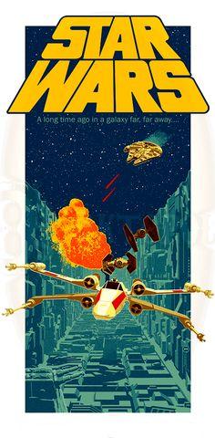 La saga Star Wars, bien mieux que les nouveaux Star Wars Film, Star Wars Poster, Star Wars Fan Art, Poster S, Walpapers Iphone, Vintage Star, Star Wars Painting, Star Wars Jokes, Star Wars Celebration