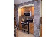 How modular and modern is this kitchen? Modular 7632 - 406-1 • 54MOD32763DM • 2280 sq.ft • 3 Beds • 2 Baths • $151,000 - $187,000    #dreamkitchen