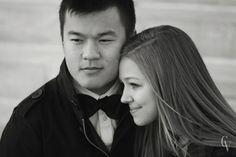 Classy Engagement | Courtney Von Holt Photography #couple #engagement #photography #love