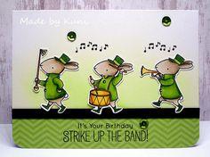 Birdie Brown Strike Up The Band Stamp Set And DIe Namics