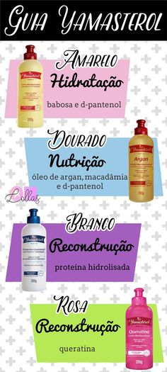 Guia Yamasterol | Por que Yamasterol é tão bom? E mais de 10 Formas de usar e… Curled Hairstyles, Diy Hairstyles, Curly Hair Tips, Bad Hair Day, Dream Hair, How To Make Hair, Hair Health, Love Hair, Hair Hacks