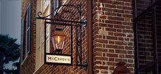 McCrady's Restaurant Chef Sean Brock brings Andrew to his restaurant, McCrady's, where they cook and eat an Ossabaw pig. Andrew samples, fried pig's ears, Ossabaw terrine,Charleston gold rice and Ossabow jowl.  2 Unity Alley, Downtown Charleston, SC 29401