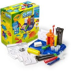 Crayola® Cling Creator - make your own window clings