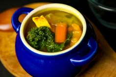 Turmeric and Ginger are both excellent for coughs and colds. This is a great remedy for that and also a nice warming soup on those frosty nights. Tumeric And Ginger, Turmeric, Ginger Chicken Soup, Palak Paneer, Clean Eating, Remedies, Train, Ethnic Recipes, Food