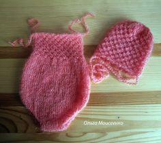 шапочка для фотосессии новорожденных, вязаный комплект для фотосессии новорожденных, одежда для фотосессий, вязаный детский бодик