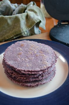 Blue Corn Tortillas: Pure and Simple