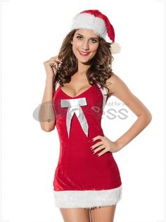Christmas clothing ( straps Halter costumes )