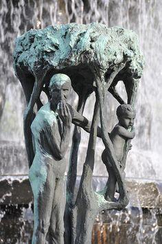 Sculptures Of Norway's Frogner- Gustav Vigeland -Poignancy of getting old