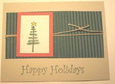 Another Simple Christmas Card idea