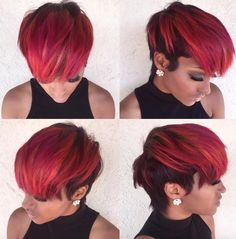 Love this color by @msklarie - http://community.blackhairinformation.com/hairstyle-gallery/short-haircuts/love-color-msklarie/
