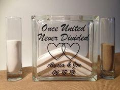Unity Sand Wedding Ceremony Set, Personalized, Beach Wedding Decor on Etsy, $37.95