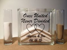 Unity Sand Wedding Ceremony Set by TheDreamWeddingShop on Etsy, $37.95