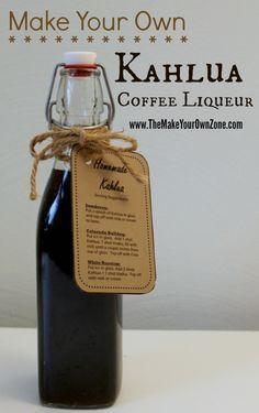 How to make homemade Kahlua coffee liqueur                                                                                                                                                                                 More
